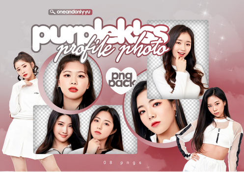 PNG PACK #40   PURPLE K!SS - PROFILE PHOTO B
