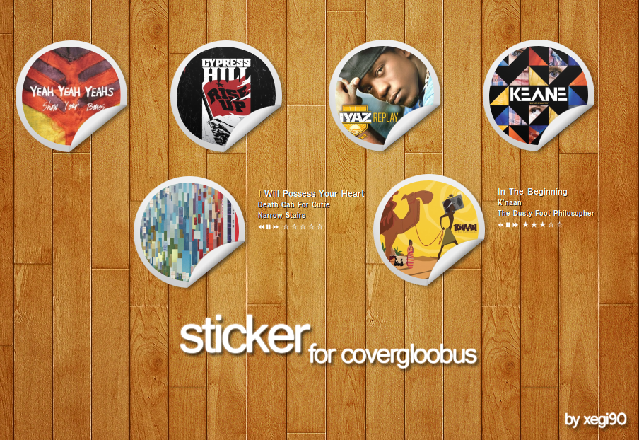Sticker for CoverGloobus