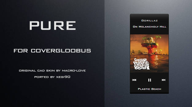 Pure for CoverGloobus