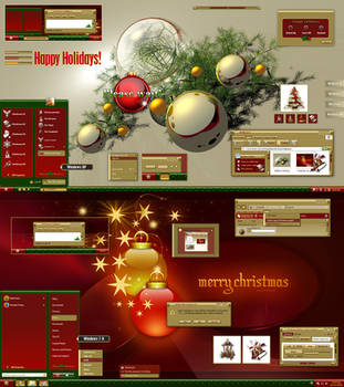 Christmas Holidays Theme by adni18