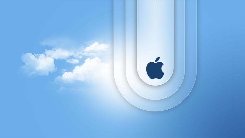 Mac Book Air Blue by adni18