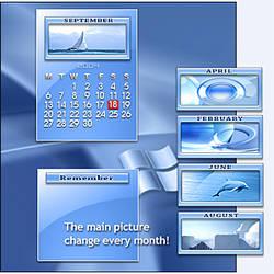 Alpha OS Calendar by adni18