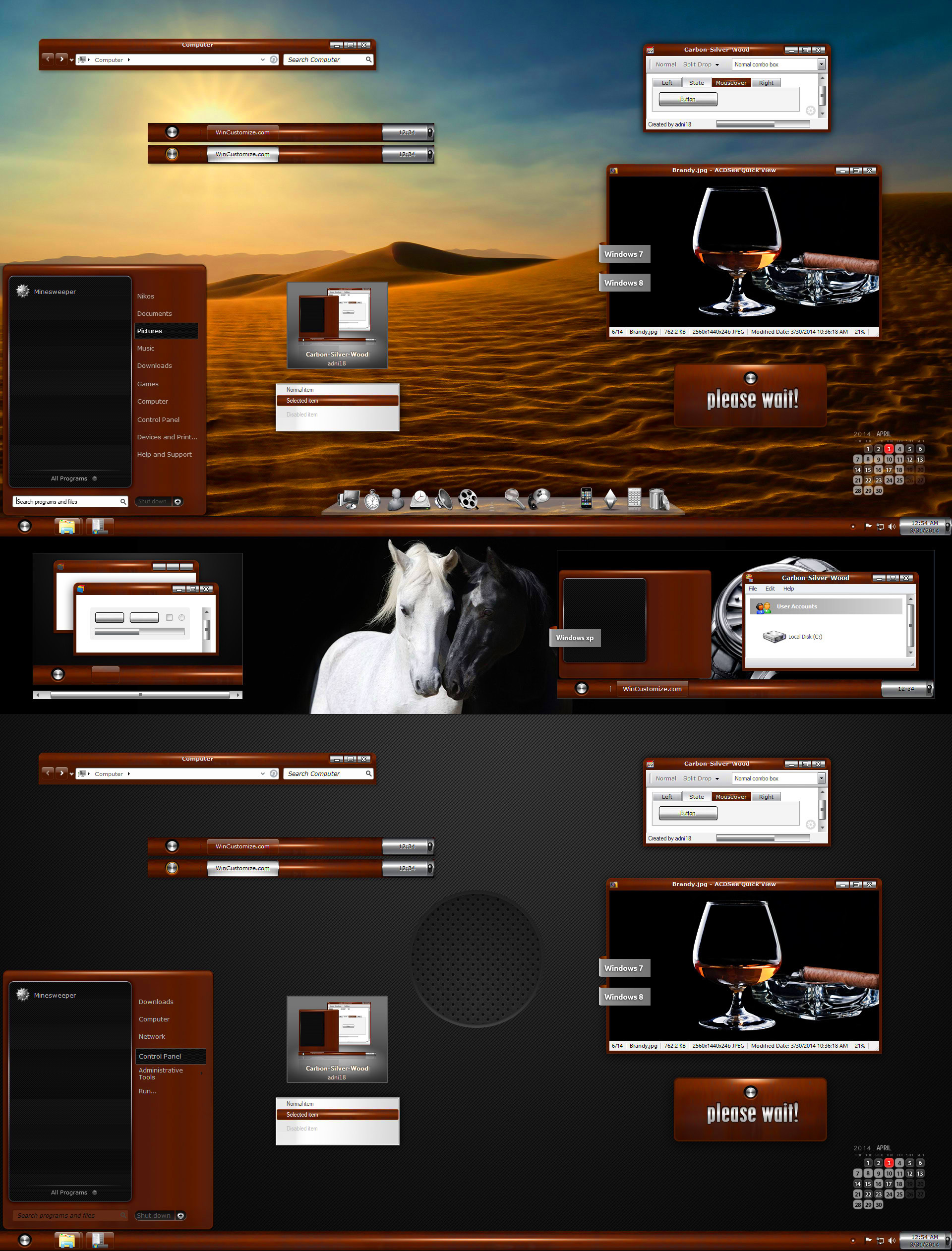 Screensavers and Live Wallpapers