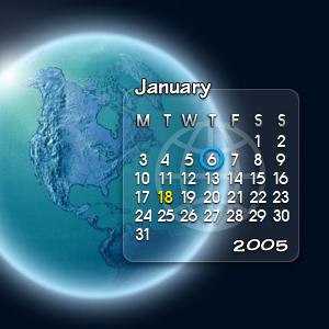 Glassy Calendar II by adni18