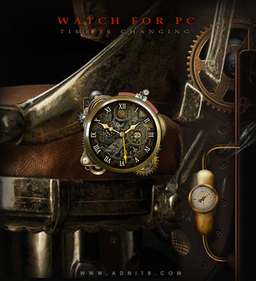 Steampunk Watch  by adni18