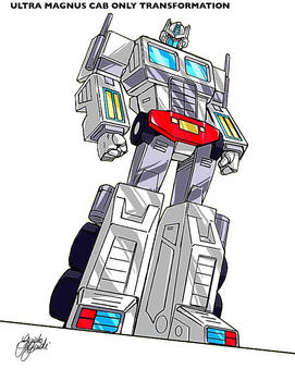 Ultra Magnus cab only