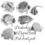 Fish brush pack 1