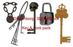 Key and lock pack