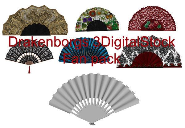 Fan pack by 3DigitalStock