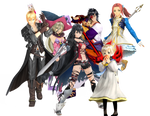 Tales of Berseria Main Character Collection
