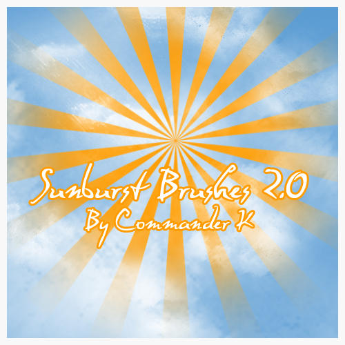 Sunburst Brushes 2.0 by CreativeLiberties