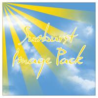 Sunburst Image Pack by CreativeLiberties