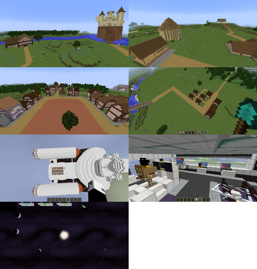 Screenshots of map