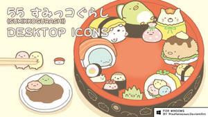 [F2U] Sumikkogurashi Desktop Icons