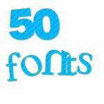50 fONtS