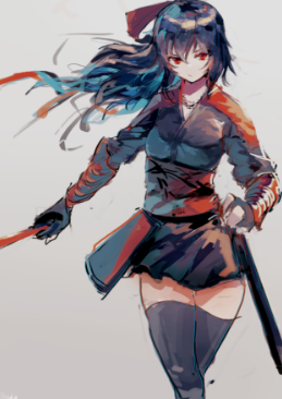 RWBY// Raven x Male!Reader by BoomBoomBoi on DeviantArt