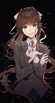 Ddlc Monika X Bulliedmalereader By Boomboomboi On Deviantart