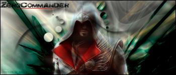 Ezio sig to ZerCommander by nachitojavier