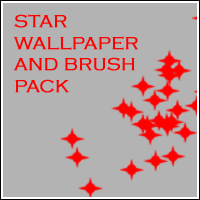 Star Wallpaper and Brush Pack by kittybread-eater