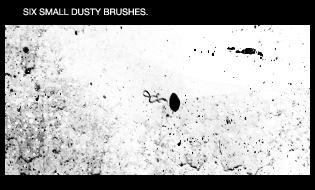 CS3 brushes - dusty - 1. by inthebackwoods-stock