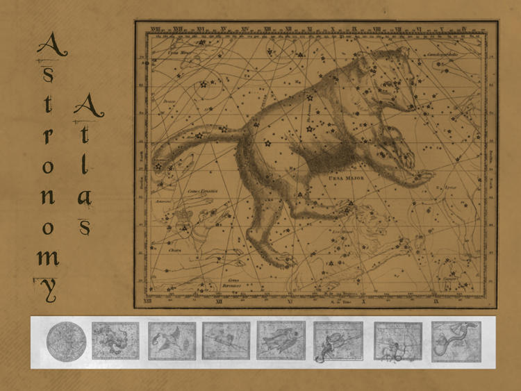 Astronomy Atlas Brush Set by bclock