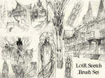 LotR Scetch Brush Set