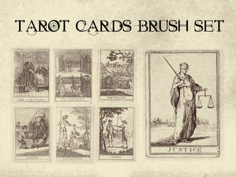 Tarot Cards Brush Set by bclock