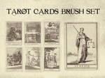 Tarot Cards Brush Set