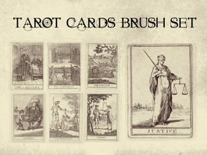 Tarot Cards Brush Set