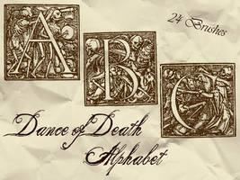 Dance of Death Alphabet by bclock