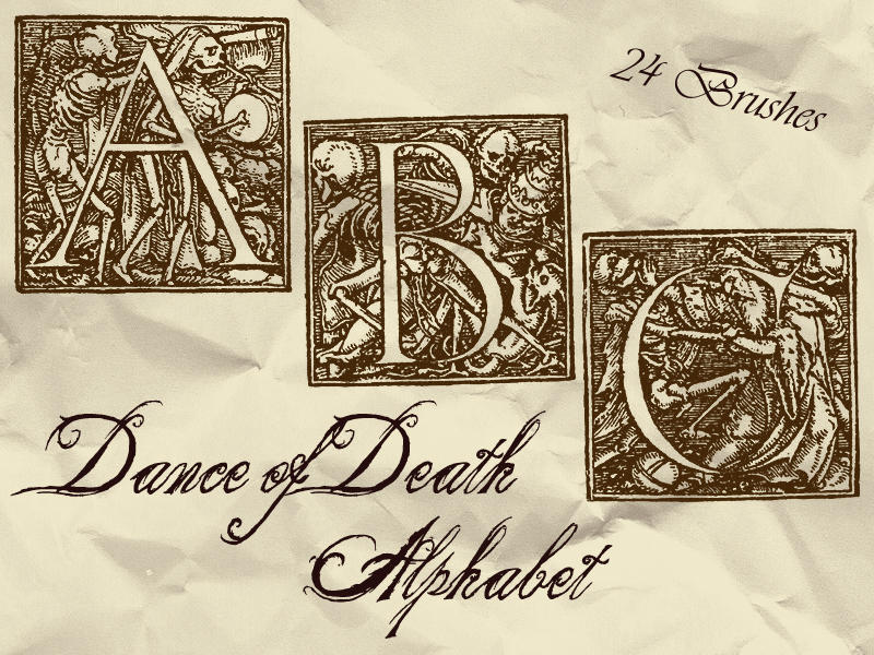 Dance of Death Alphabet by bclock