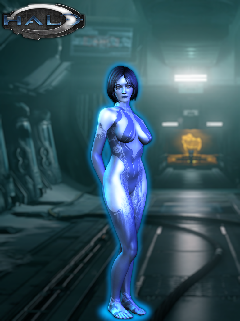 halo cortana nude