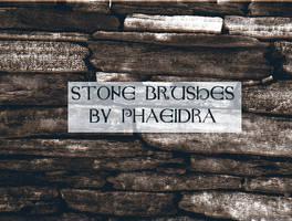 Stone Brushes by phaeidra