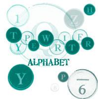 Typewriter Alphabet by phaeidra