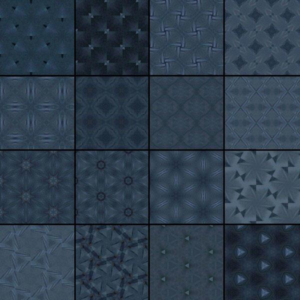 Dark Blue Patterns by Studio64-Chicago