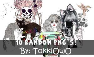 RANDOM png OwO by TokkiOwO