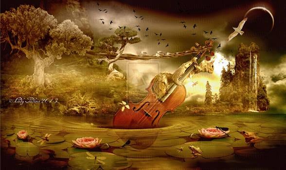 I play the bass-En jatszom a basszust