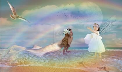 Look, I took the rainbow-Nezd elhoztam a ... by ladyjudina