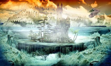 Clouds and fog-Felhok, es a kod by ladyjudina