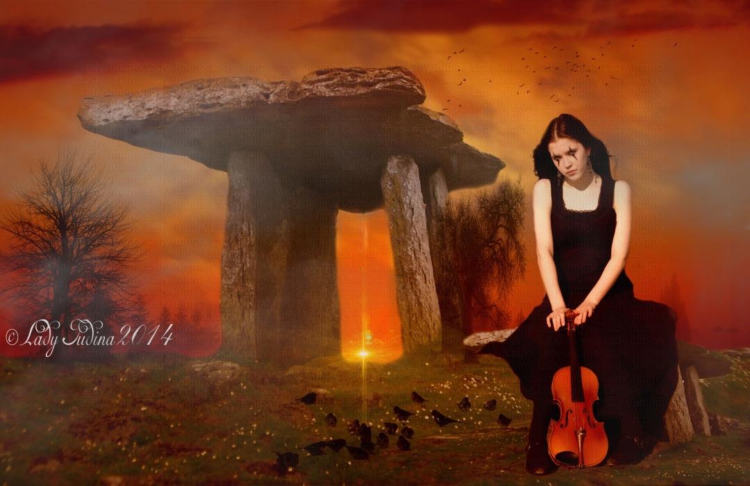 Harlequin Violin 2 by ladyjudina
