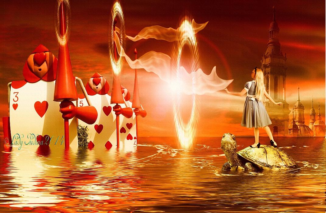 Alice, in Wonderland - Alice, csodaorszagban by ladyjudina