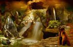 Bears and waterfalls
