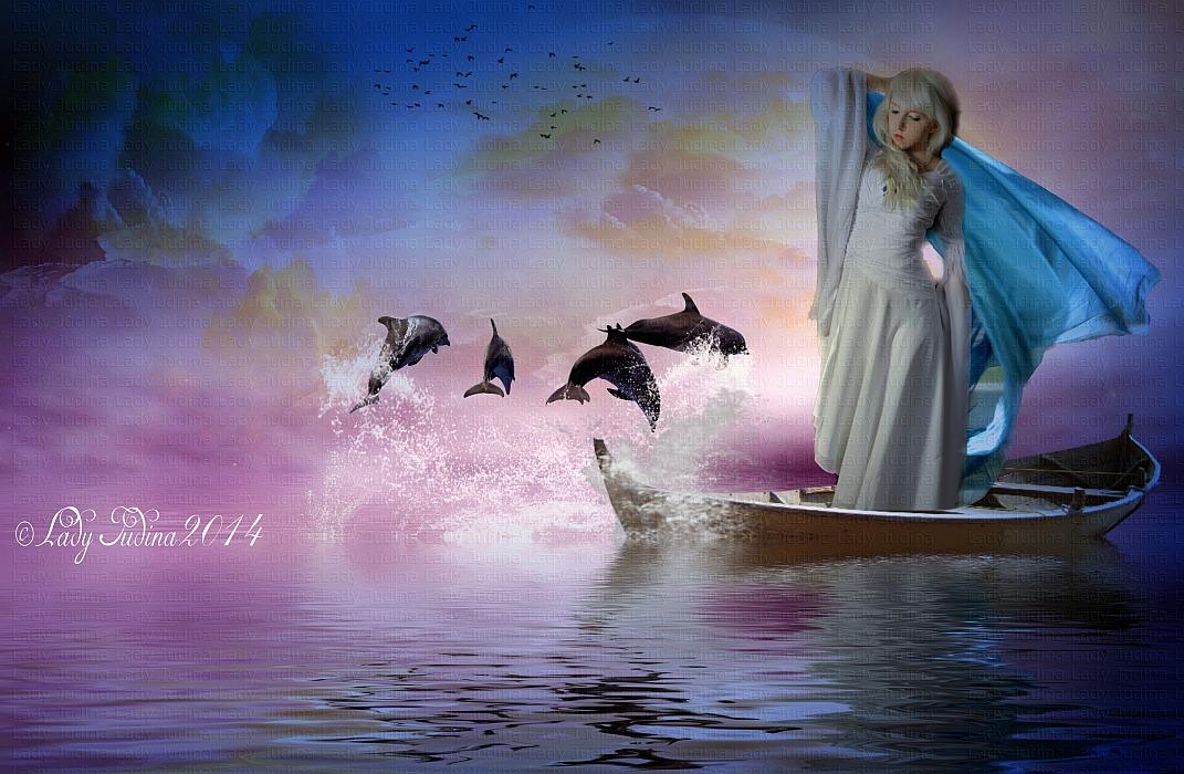 Dolphins-Delfinek 3 by ladyjudina