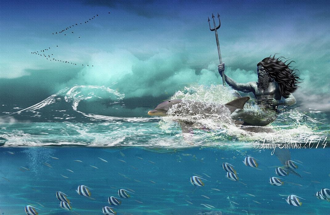 Poseidon by ladyjudina