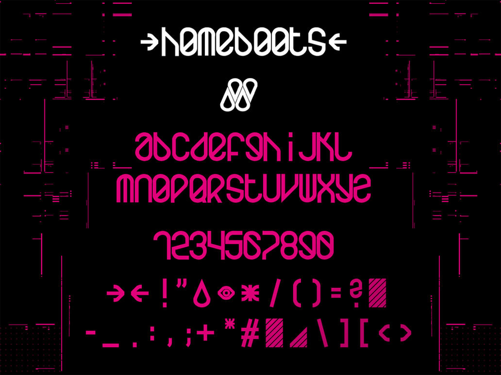 homeboots font by homeaffairs