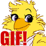 Giant Chica Icon [GIF] by brannahgirl