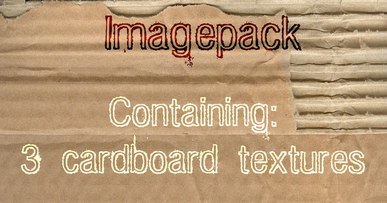 Cardboard Textures by LittlePear
