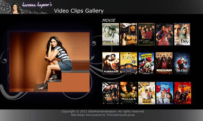 Kareena Kapoor's e-portfolio (Movie Files Page)