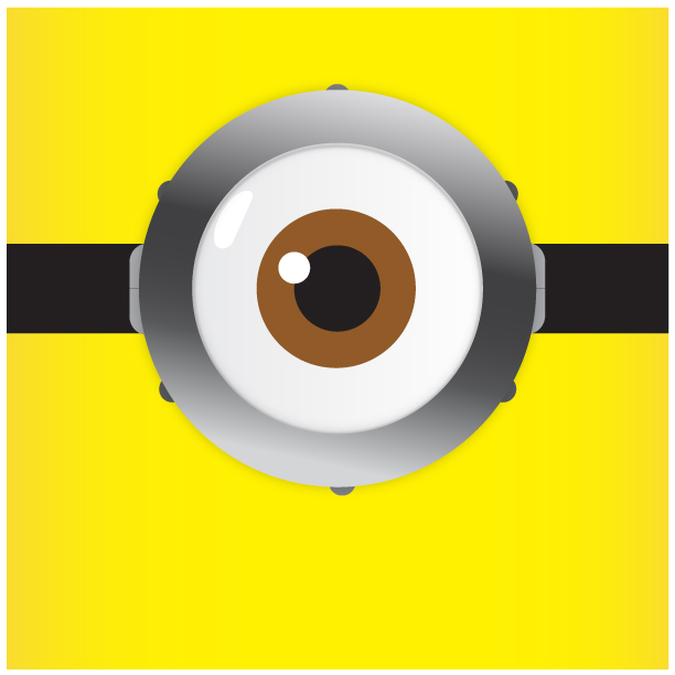 Despicable Me-Minion Vision by helios1027