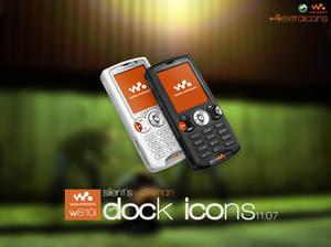 W810i Dock Icons